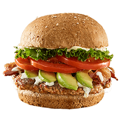 Avocado Bacon Club Turkey Burger