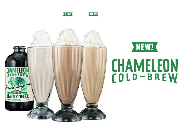 CHAMELEON COLD BREW COFFEE SHAKE